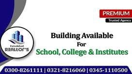 14 Marla Building on Rent for Institutes & Companies at People Colony