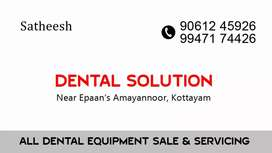 All dental equipment sales & servicing