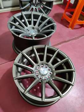 """17"""" Alloy wheels with Multi PCD in 5*112 and 114.3"""
