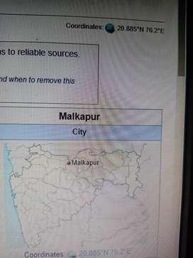 Malkapur MIDC land for sale