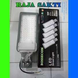 Lampu jalan led 50w BOSSECOM 50 watt street light 50watt led outdoor
