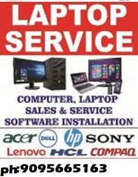 Laptop Services & Repair & OS installation