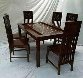 Meja makan kursi furniture