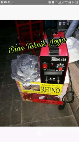 Dian teknik bka smp mlm Mesin inventer las Rhino 125 A, 900 Watt