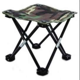 Kursi Lipat Mancing Kotak Desain Army TaffSPORT - Camouflage