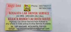 Kolkata driver service.24hrs driver on call