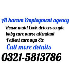 Al Haram Associates we provide Domestic Human resource staff