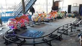 singa genjot pony kereta rel bawah lantai mini roller coaster odong SW