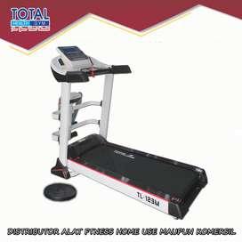 Treadmill elektrik tl-123M treadmil listrik TOTAL COD Tangerang