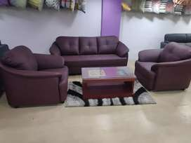 EMI available,brand new sofa set in direct factory price.