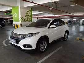 Honda HRV 1.5 S CVT 2018 Akhir Matic Putih