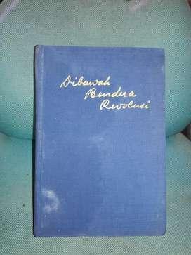 Buku Dibawah Bendera Revolusi 1 set cetakan tahun 1964