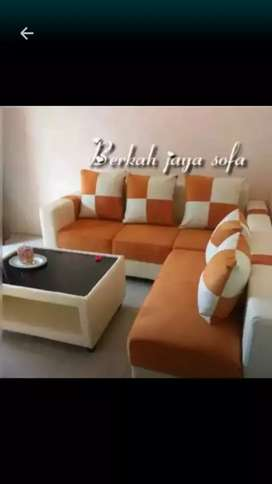 Sofa selonjor bolak balik minimalis