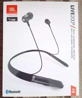 Dijual headphone wireless JBL Live 200BT ORIGINAL, new, segel.