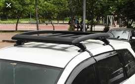 Roof Rack Universal buat Semua Mobil lengkap kaki Crossbar