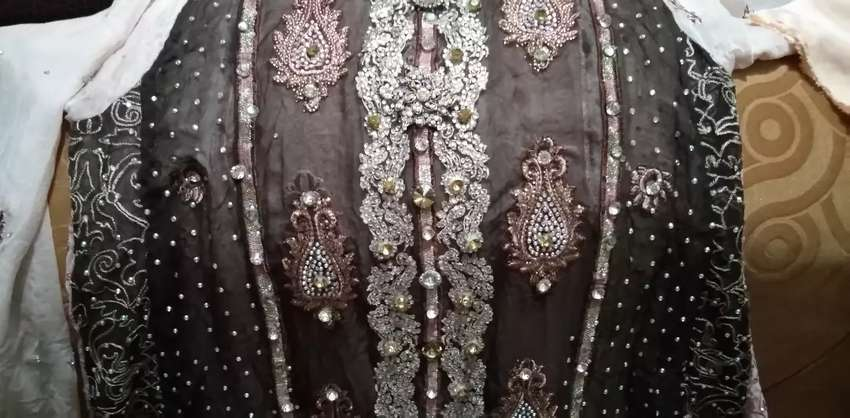 Stone work frock for sale
