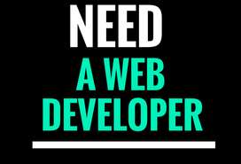 Need web developer for personal website