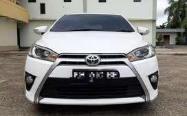 Dijual Toyota Yaris G manual 2014 bisa tukar tambah