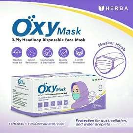 Masker OXY Hijab isi 50 pcs