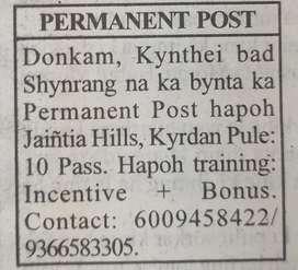 Permanent post