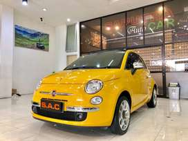 For Sale FIAT 500 C Lounge 1.4 Convertible AMT 2015 Km 9 Ribu SAC