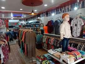 Retaik showroom situted at orime lication in indra nagar
