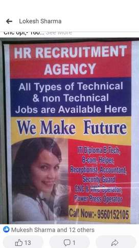 All profiles job available