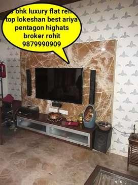 3 bhk luxury flet rent top location Best are