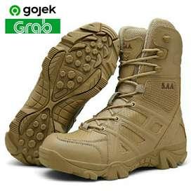 Sepatu Tactical 5AA 5.AA / Sepatu Satpol PP PDL 8 Inch Import