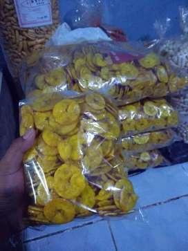 Keripik pisang rasa nangka