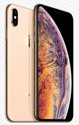 iPhone XS Max 256 GB Gold with Apple care for 1 year