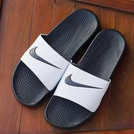 ORIGINAL Sandal Nike Bennasi Full All Black Hitam BNWB - 44