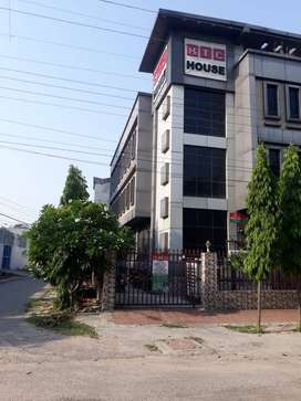 An independent four storey in commercial hub of Lucknow