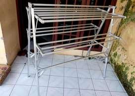 Jemuran Aluminium Sayap 1,5 m Bahan Holo Almini