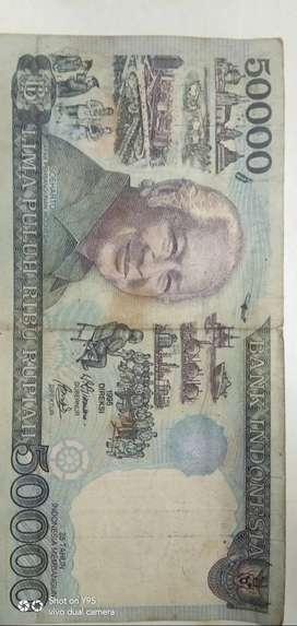 Uang pecahan 50000 soeharto