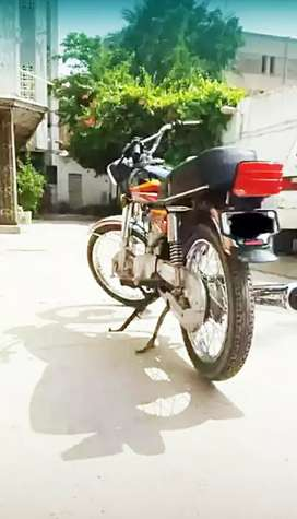 honda 125 in mint condition .