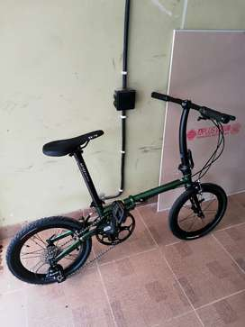 Sepeda Lipat Folding Bike FNHON GUST