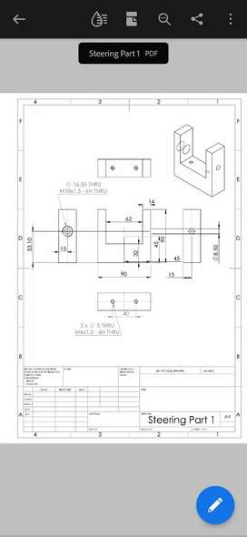 Solidworks & Catia works assembly and drafting