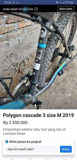 Polygon cascade 3 size m
