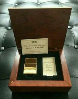18K Solid Gold Zippo Limited Edition 50 Pieces Worldwide