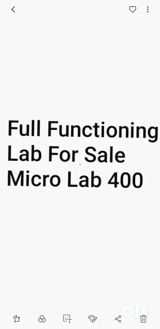 LAB EQUIPMENTS FOR SALE