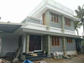 3 bhk 1300 sqft 3.6 cent new build house at aluva near kottappuram