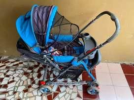 Stroller 4in1 Pliko 268