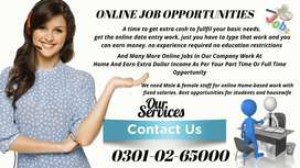 Just type and earn money by simple and multi typing at home