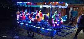 Jual odong panggung ikan nemo full lampu hias & aksesoris NLS
