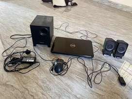 Dell INSPIRON,Intel Core i3 processor with Creative Speaker