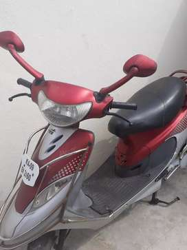Tvs scooty pep+ good condition.clear all documents