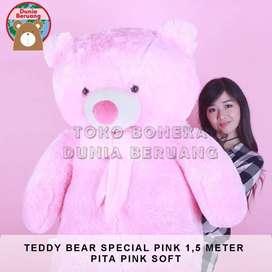 Teddy Bear Pink Special 1,5Meter Pita Pink Soft