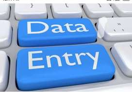 Data entry operator only