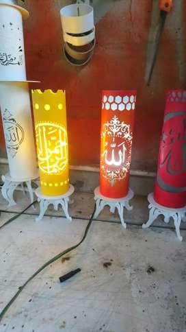 Lampu Kaligrafi